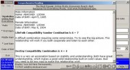 MB Free Numerology Compatibility Software screenshot